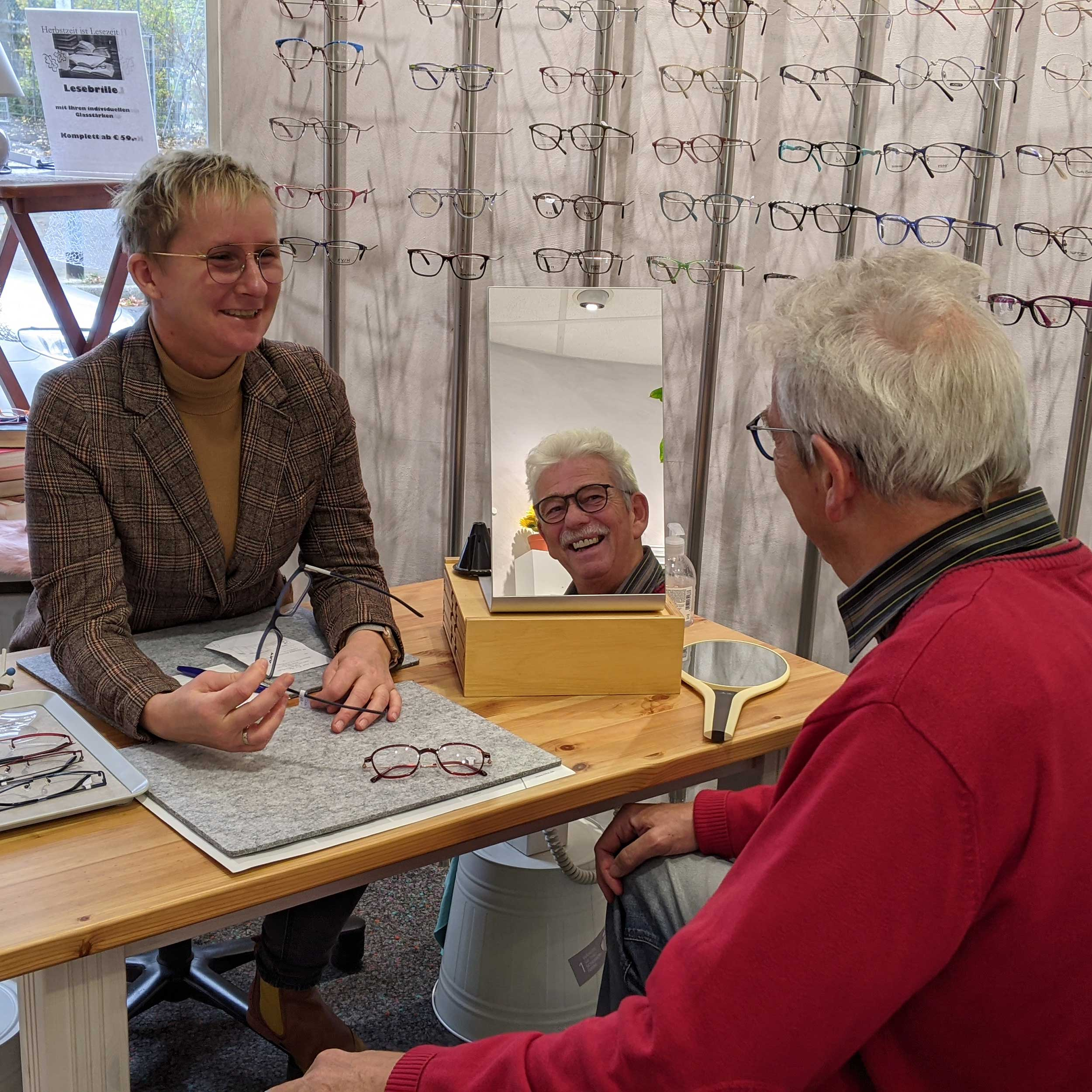 Optiker Hannover Service Brillenberatung
